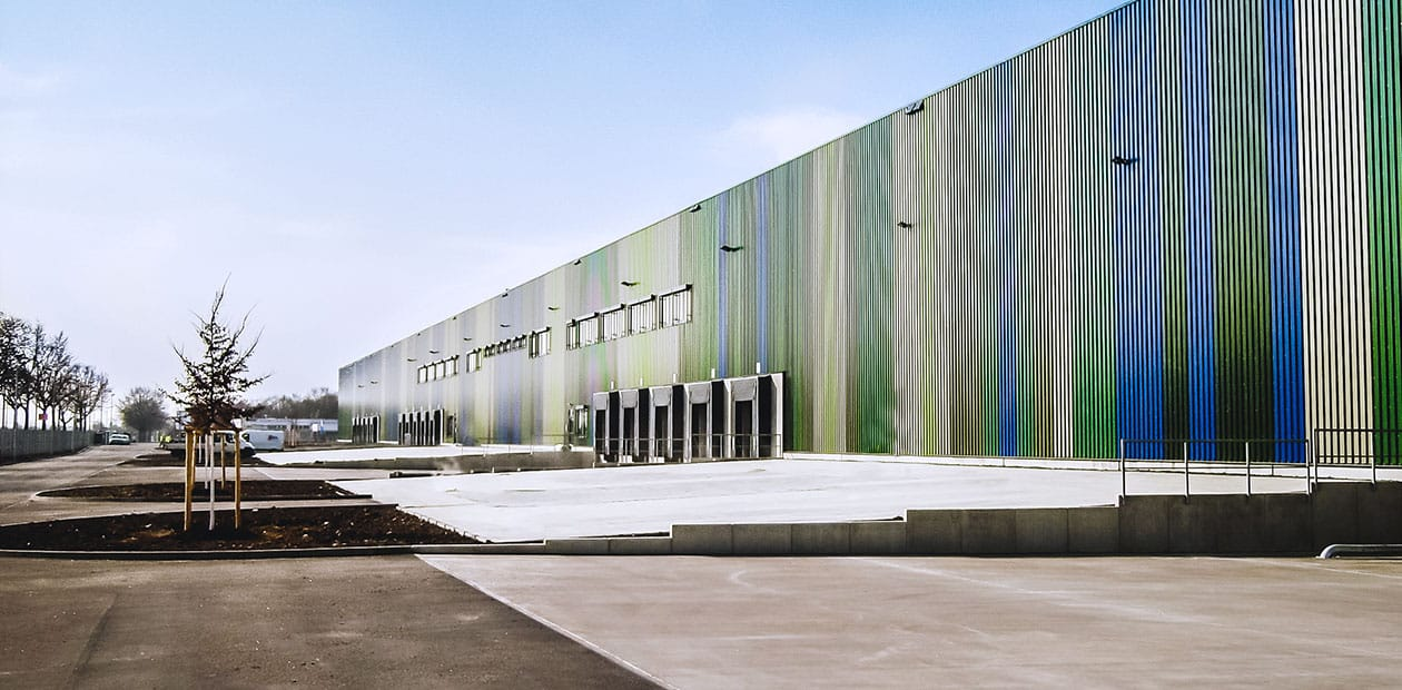 Logistikzentrum Rudolph Mannheim