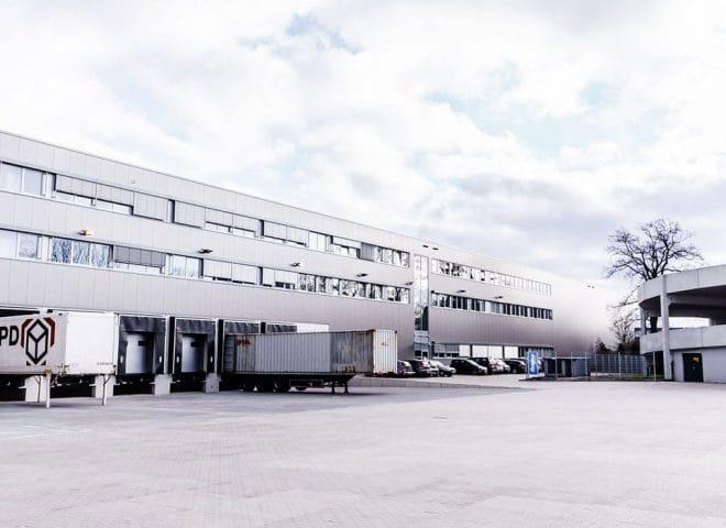 Objektansicht Distributionszentrum Bergans