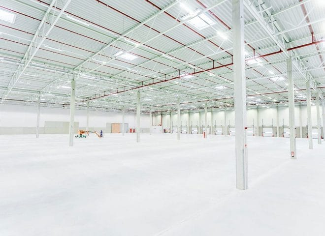 Shared Logistics Center Westfalenhütte Lagerhalle