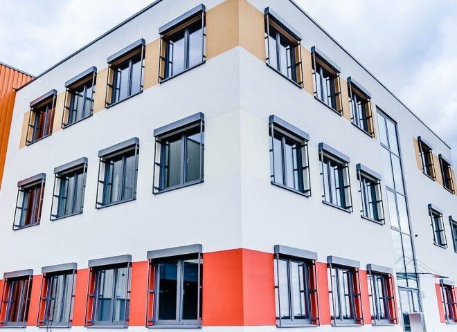 Objektansicht Shared Logistics Center Westfalenhütte