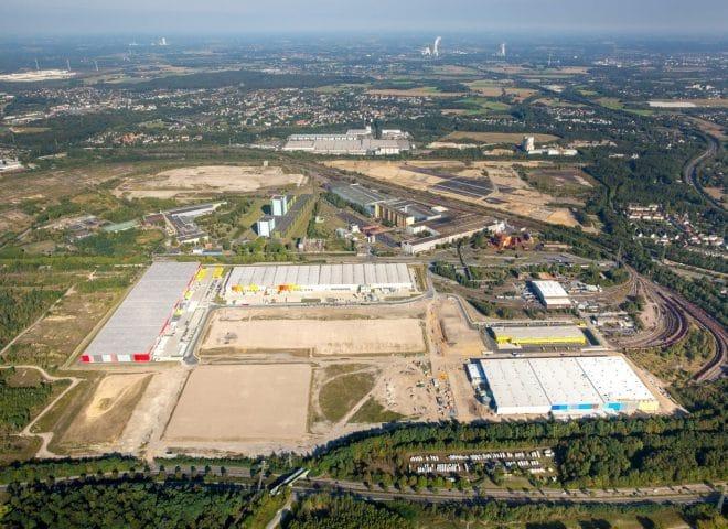 Dortmund Westfalenhütte Luftaufnahme