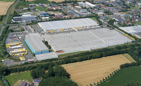 Luftaufnahme Logistikzentrum Werne
