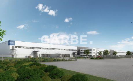 Neubau-Logistikzentrum in Oberkrämer