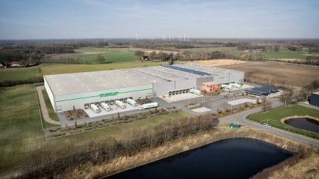 Logistikzentrum Ochtrup Vogelperspektive