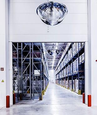 Objektansicht Logistikcenter Zweibruecken innen