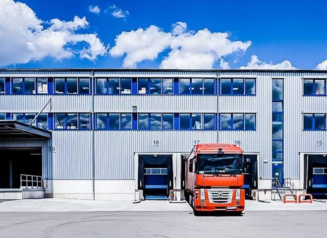 Objektansicht Logistikcenter Zweibruecken