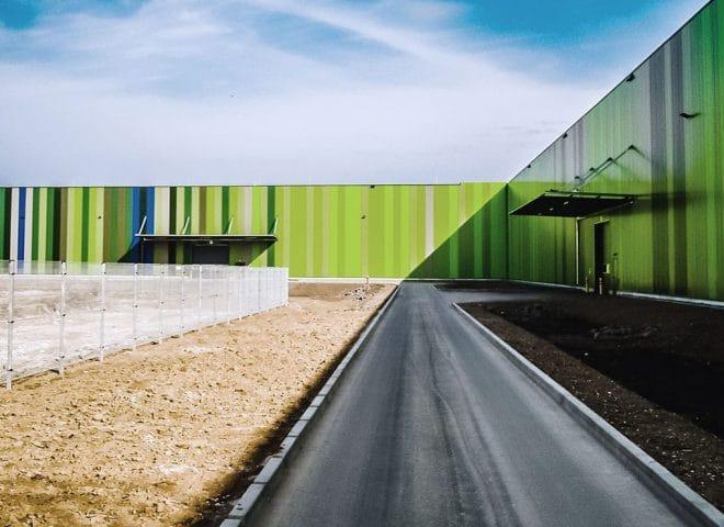 Objektansicht Logistikzentrum Rudolph Mannheim