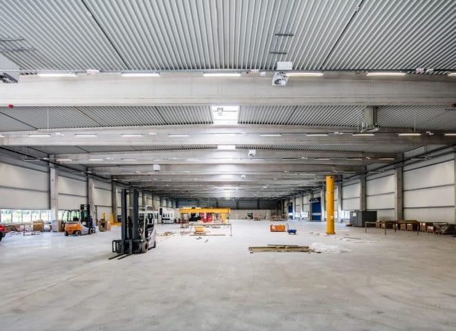 Lagerhalle ThyssenKrupp