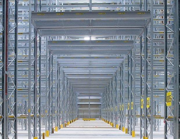 Lagerhalle im World Cargo Center Leipzig