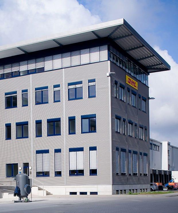 DHL Gebäude