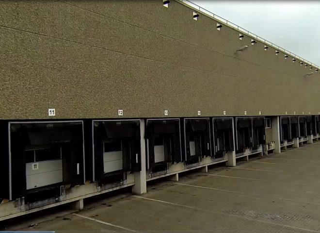 Logistikimmobilie Wunstorf Beladetore für LKW
