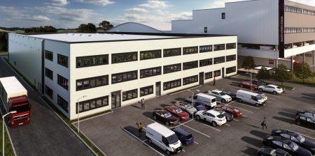 Erweiterung des World Cargo Center