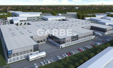 Neubau-Logistikpark Langenhagen