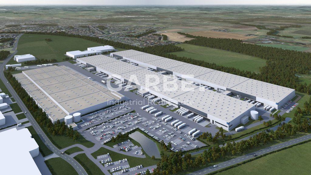 Neubau-Logistikzentrum in Werne