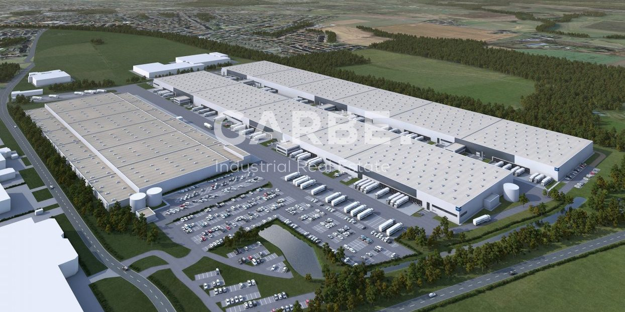 Neubau Logistikzentrum Werne - hero