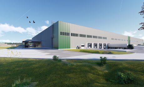 Logistikzentrum Steyr Alstom