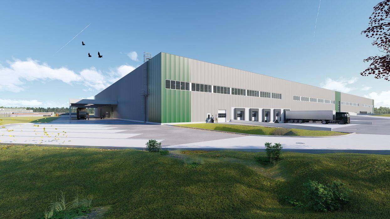 Logistikzentrum Steyr