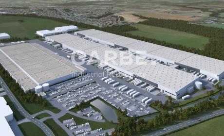 Neubau Logistikzentrum Werne - Beitragsbild